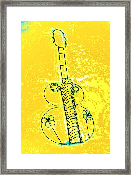 Guitar 2c Framed Print