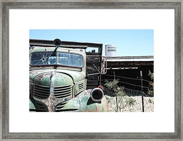 Hackberry Arizona Route 66 Framed Print