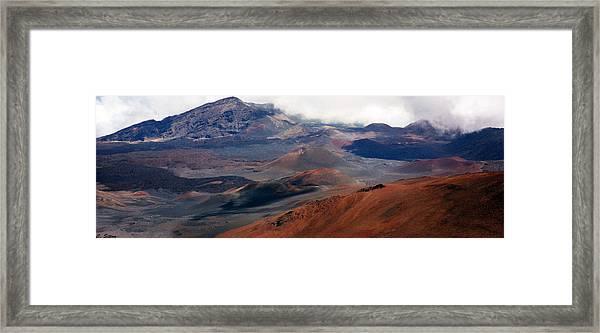 Haleakala Volcano Framed Print