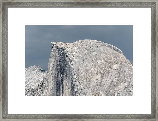 Half Dome From Glacier Point At Yosemite Np Framed Print