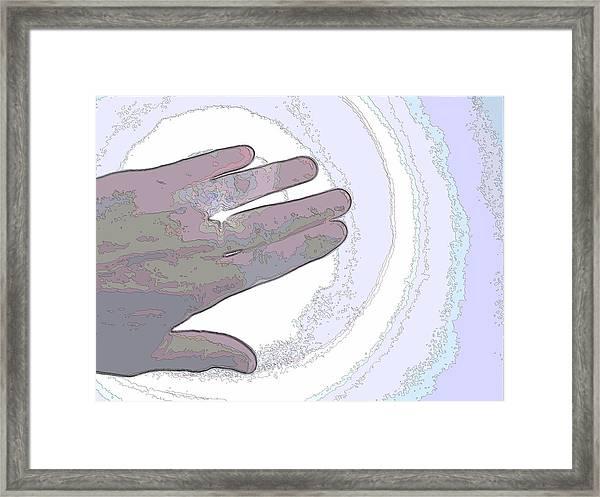 Hand To God Framed Print