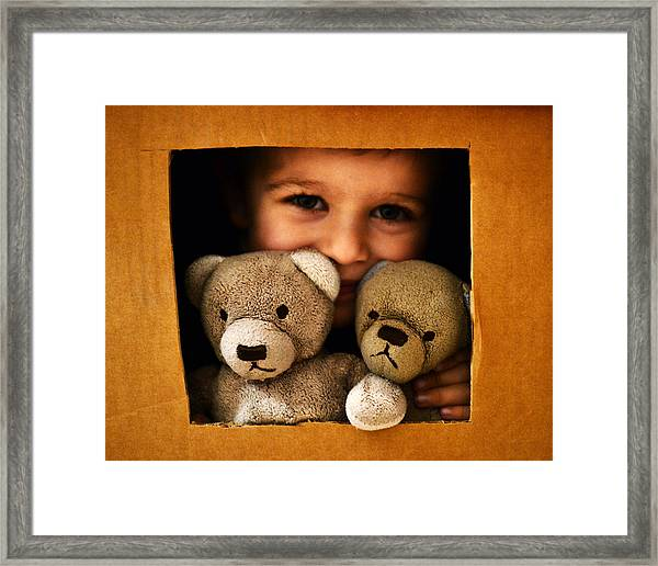 Hangin' With Friends Framed Print