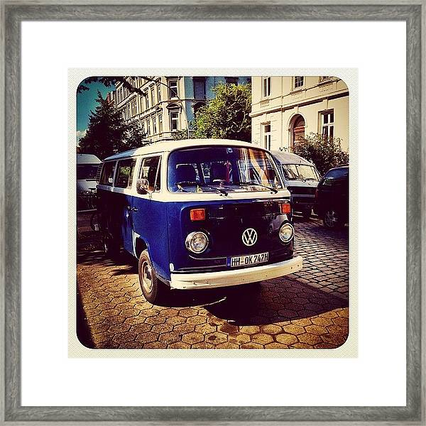#hansefamous #igershamburg Framed Print