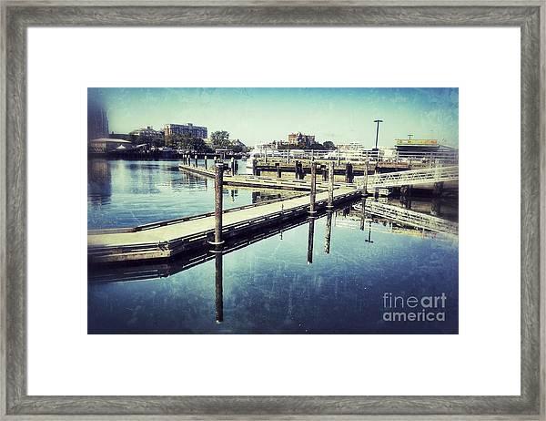 Harbor Time Framed Print