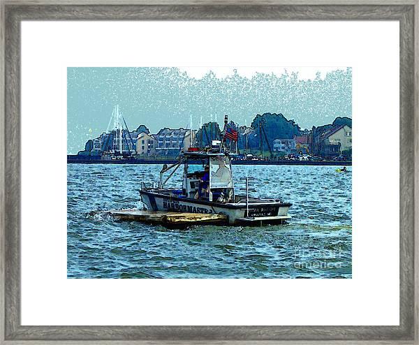 Harbormaster Framed Print