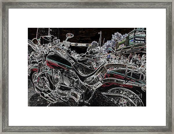 Harley Davidson Style 3 Framed Print