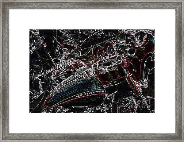 Harley Davidson Style 4 Framed Print