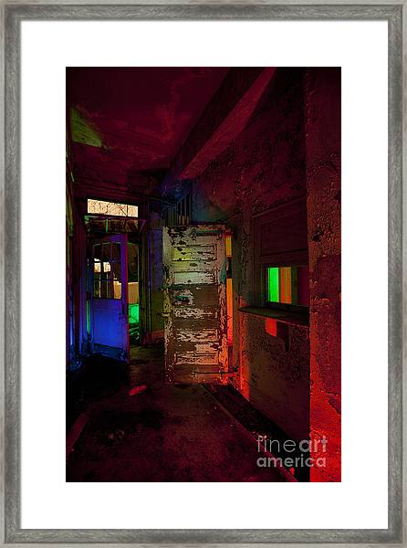 Haunted Stamford Hotel Framed Print