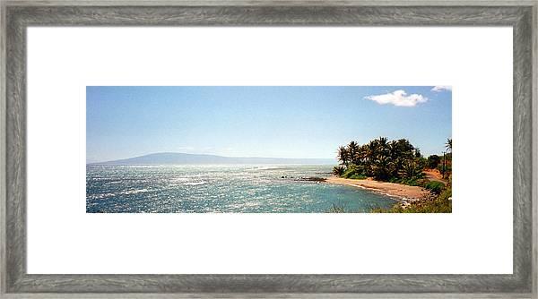 Hawaiian Coastal View Framed Print