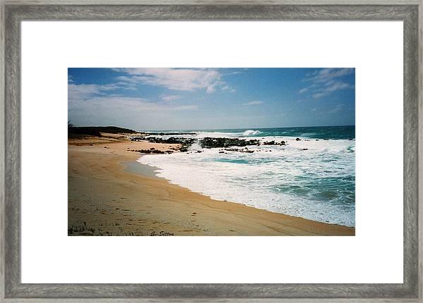 Hawaiian Shore Framed Print