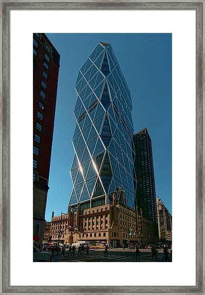 Hearst Building Framed Print
