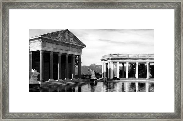 Hearst Castle Pool Framed Print