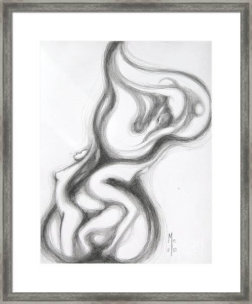 Heart Lariat Framed Print