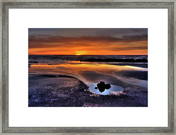 Heart Of The Central Coast Framed Print