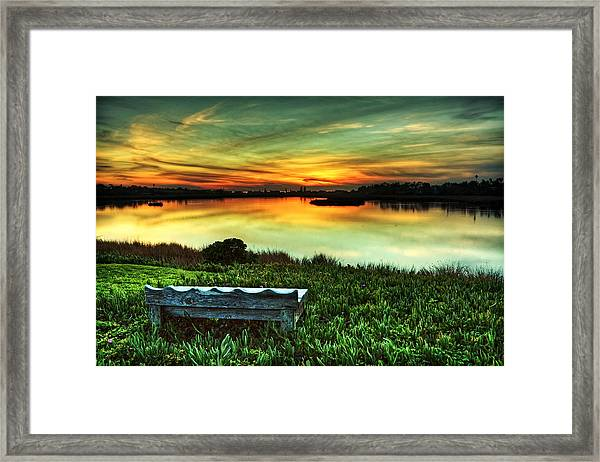 Heavenly Framed Print by Donna Pagakis