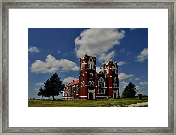 Heavenly Sky Framed Print