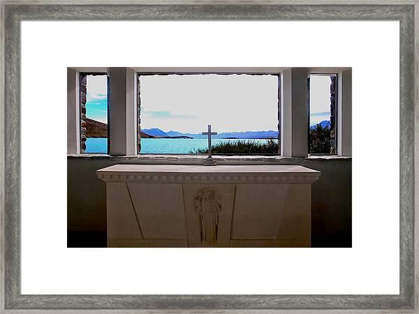 Heavenly View Framed Print