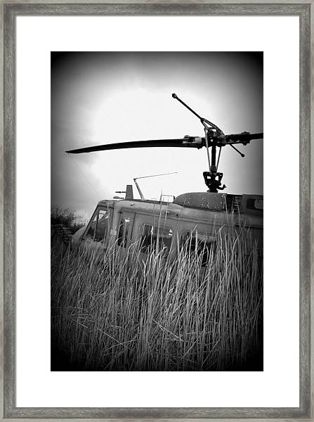 Helicopter Of War Framed Print