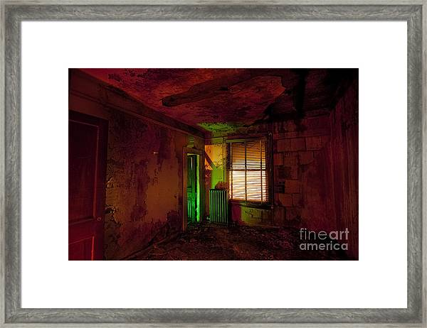 Hells Room Service Framed Print by Keith Kapple