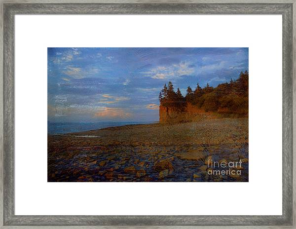 Henri's Beach Framed Print