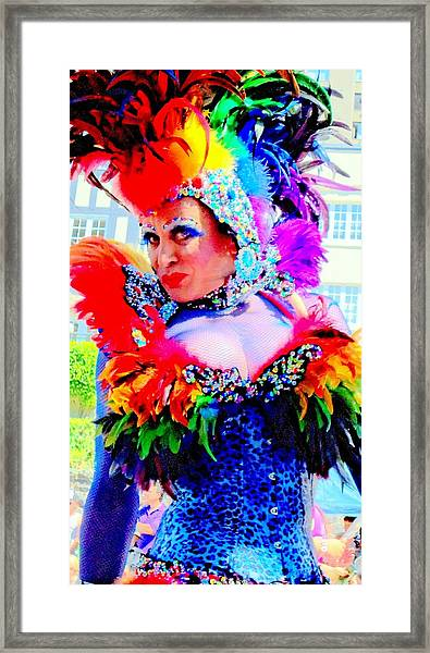 Her Name Was Lola Framed Print