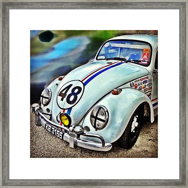 Herbie Goes To Chiang Mai 👀 Framed Print
