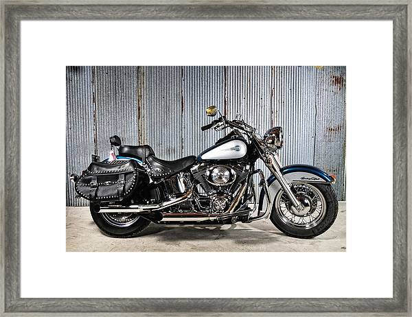 Heritage Softail Framed Print