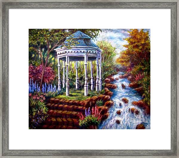Hidden Forest Framed Print