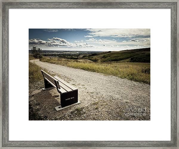 Hilltop Framed Print