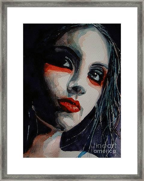 Honky Tonk Woman Framed Print