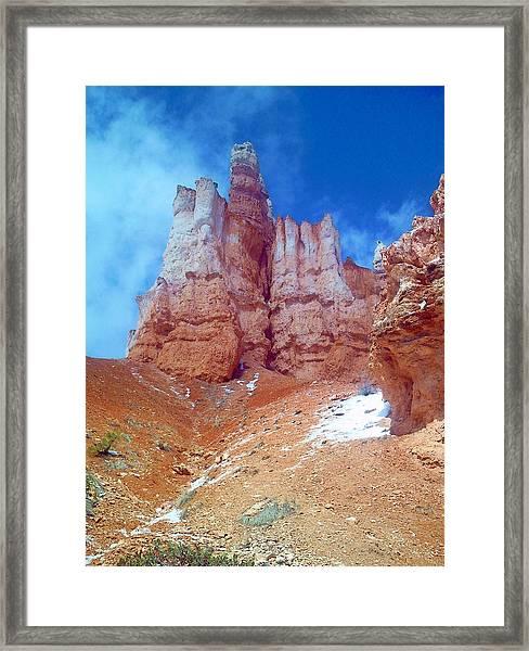 Hoodoo Castle Framed Print