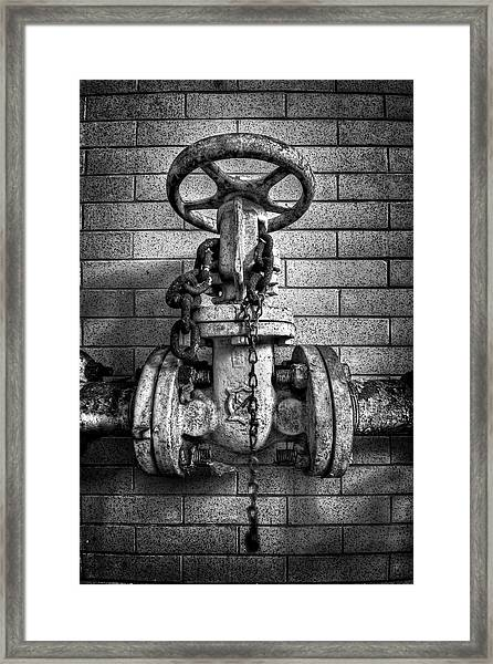 Hooked On Metal Framed Print