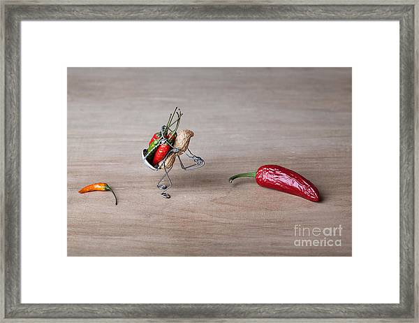 Hot Delivery 01 Framed Print