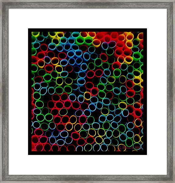 Huddled Masses Framed Print