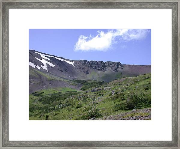 Hunters Basin Framed Print
