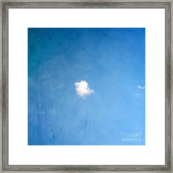 I Am One Framed Print