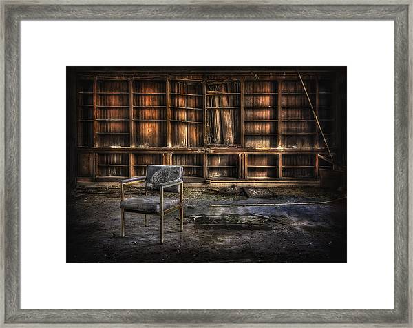 I Don't Want Your Yesterdays Framed Print