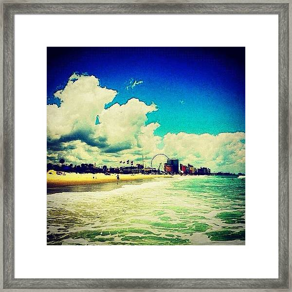 I Just Love Changing The Colors Of This Framed Print