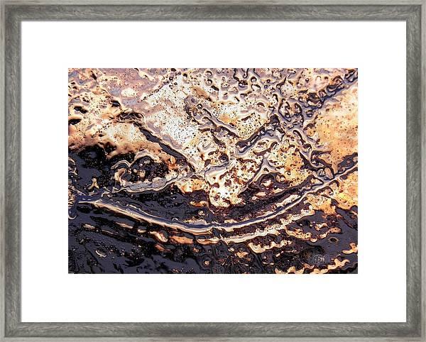 Ice Blade Framed Print