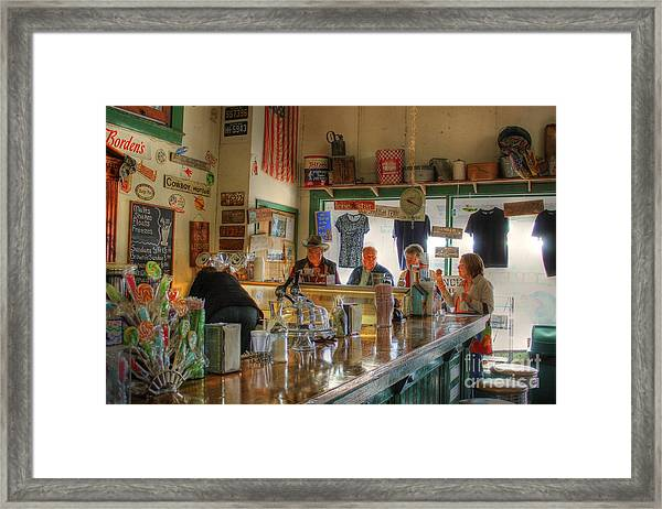 Ice-cream Social Framed Print