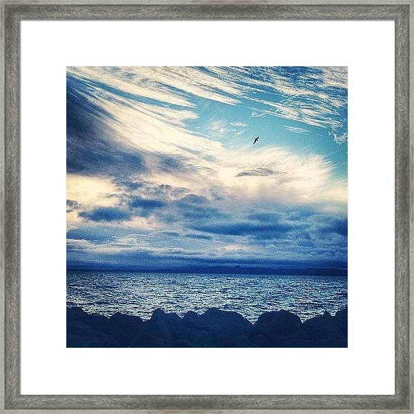 #iceland #icelandic Framed Print