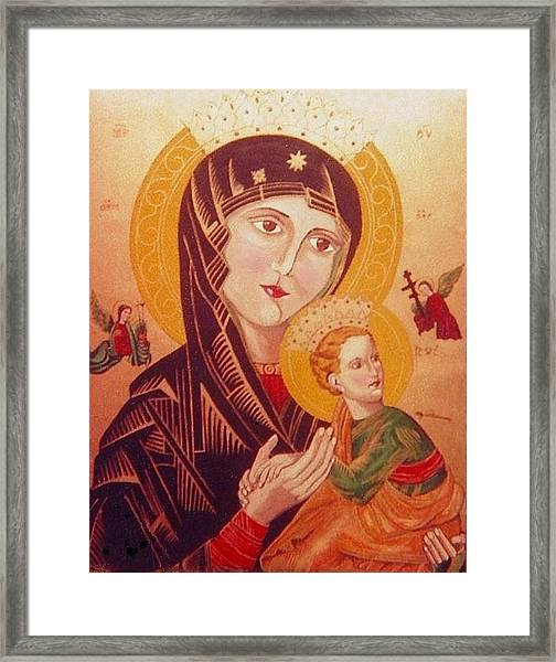 Icon Framed Print