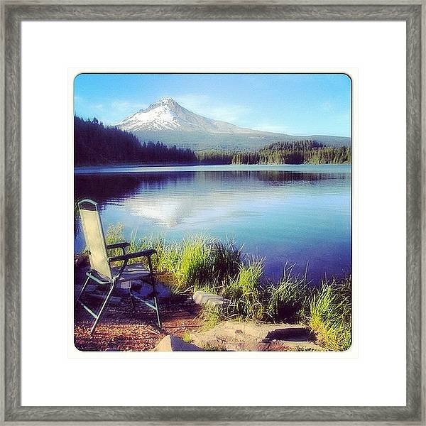 If U Want To Live A Peaceful Life Like Framed Print