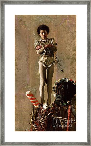Il  Saltimbanco Framed Print by Pg Reproductions
