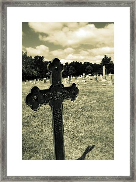 In Memory Framed Print