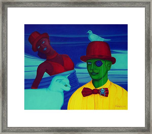 In The Theatre Of Time Framed Print