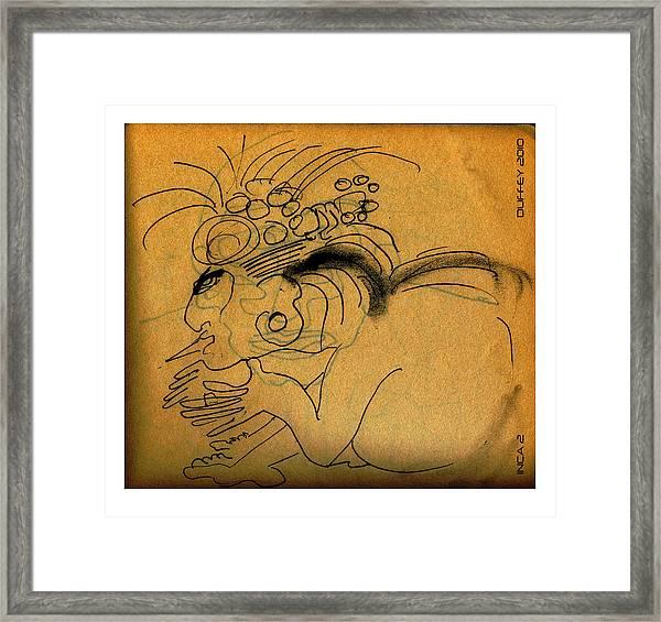 Inca 2 Framed Print