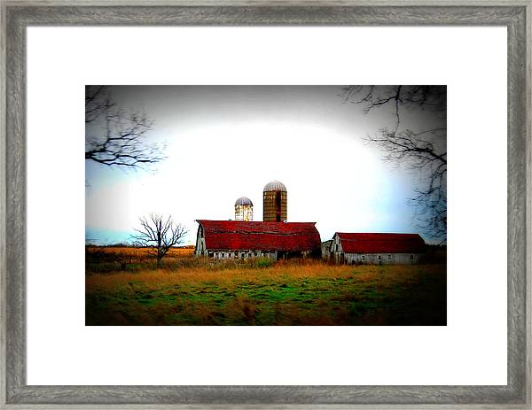 Indiana Barns Framed Print