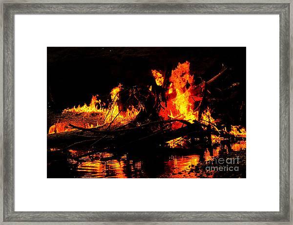 Infernal Lair Framed Print