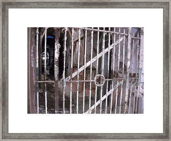 Infirmary Gate Framed Print